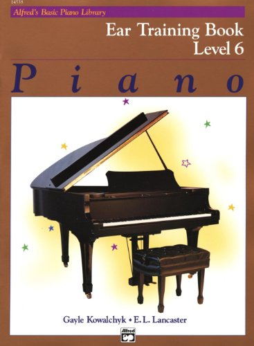 Alfred's Basic Piano Cursus: Oor Training Boek 6