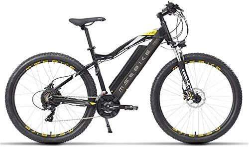 """Elektrofahrrad Mountainbike Elektrische Fahrräder für Erwachsene, Aluminiumlegierung Ebikes Fahrräder Alle Gelände, 27.5\""""48V 400W 13Ah Abnehmbare Lithium-Ionen-Batterie-Berg Ebike für Herren Lithium"""