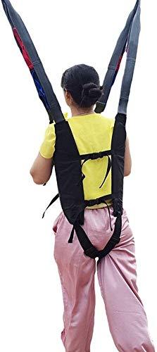 41GGgEtq2LL - Grúa de paciente portátil Montacargas honda del paciente for el uso casero cinta de transferencia de la cómoda del paciente de la desventaja honda Cama de cuidado del cinturón de cintura ajustable Any