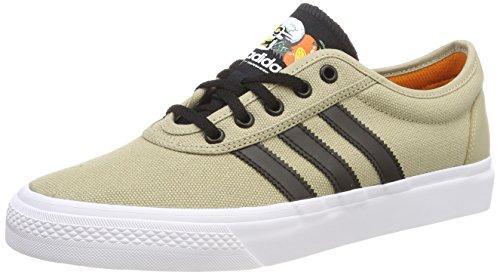 Adidas Adi-Ease, Zapatillas de Skateboarding Hombre, Amarillo (Oronat/Negbas/Ftwbla 000), 46 EU