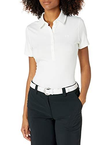 Under Armour Zinger Short Sleeve koszulka polo damska biały Weiß (100)/Weiß X-S