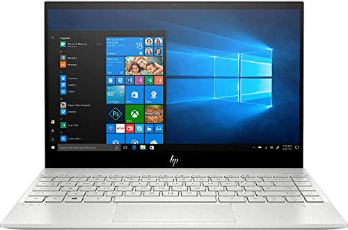 """2020 HP Envy 13.3"""" 4K Ultra HD Touchscreen Laptop Computer, 10th Gen Intel Quard-Core i7 1065G7 up to 3.9GHz, 8GB DDR4 RAM, 1TB PCIe SSD, Online Class Ready, Silver, Windows 10, iPuzzle Mouse Pad"""