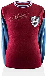Signed Geoff Hurst Jersey - Sir 1964 Shirt Silver Pen - Autographed Soccer Jerseys