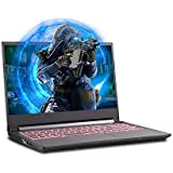 Sager NP6858EQ 15.6-Inch Thin Bezel FHD 144Hz Gaming Laptop, Intel i7-10750H, GTX 1650Ti 4GB, 16GB RAM, 500GB NVMe SSD, Windows 10