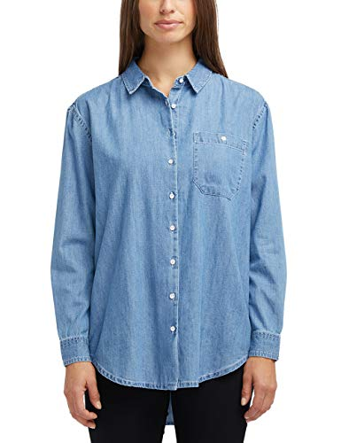 MUSTANG Damen Oversized Fit Jeansbluse Jeans