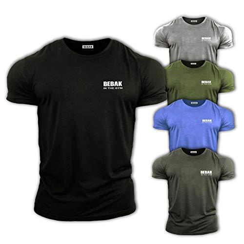 ✅ Fatevi notare: questa maglietta semi-aderente da palestra è stata appositamente progettata per mostrare un grande fisico e un corpo che merita ottimi vestiti per sembrare al meglio. Queste magliette di qualità sembrano fantastiche, sono realizzate ...