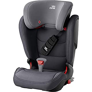 BRITAX RÖMER KIDFIX Z LINE, X-P PAD and SecureGuard, ISOFIX Car Seat, Child from 15 to 36kg (Group 2/3) from 3.5 years to 12 years old, Storm Grey (B0823X5FB2) | Amazon price tracker / tracking, Amazon price history charts, Amazon price watches, Amazon price drop alerts