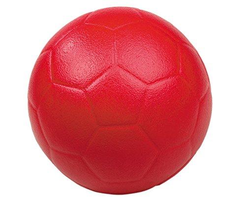 Betzold 33200 - Soft-Fussball Ø 20 cm - Softball Schaumstoff-Ball weicher Kinder-Ball draußen Spielball Spielzeug