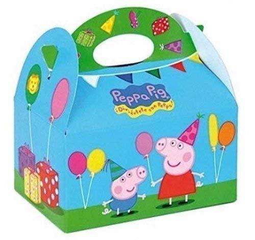 Party Bags 2 Go Peppa Pig Comida Cajas pk8