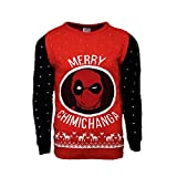 numskull Unisex Deadpool Pullover, Totes Schwimmbad, L
