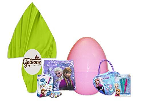 set fai da te Guscio Uovo di Pasqua con gadget Disney Frozen Idea Regalo