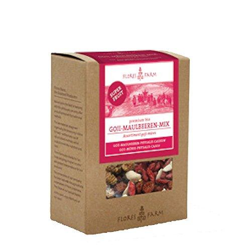 Flores Farm Premium-Goji-Maulbeeren-Mix (100 g)