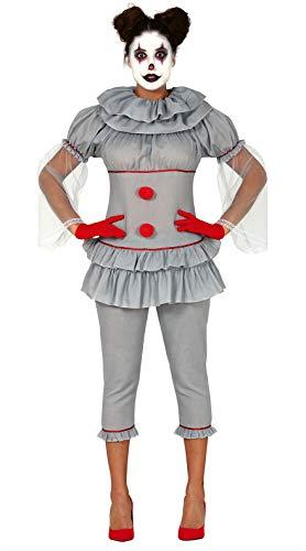 FIESTAS GUIRCA Disfraz Mujer payasita Bailarina asesina Talla s