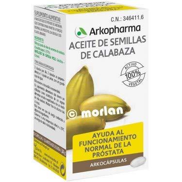 Arkocápsulas Aceite de Semillas de Calabaza, 50Cápsulas