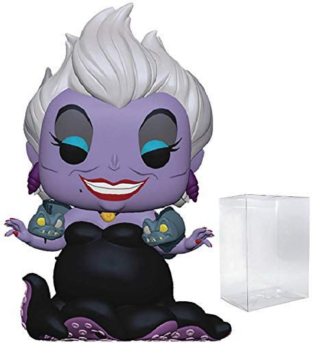 Disney Princess: The Little Mermaid - Ursula with Eels Funko Pop! Vinyl Figure (Includes Compatible Pop Box Protector Case)