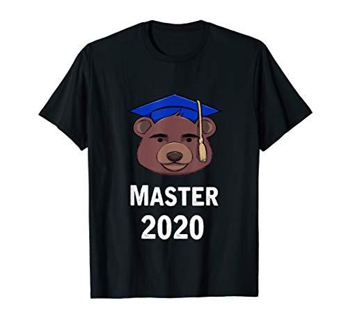 Cooles Master Studienabschluss Uni Geschenk Teddy Bär T-Shirt