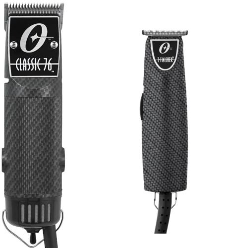 Oster Classic 76 Professional Clipper Carbon Fiber + Limited T-Finisher Pro