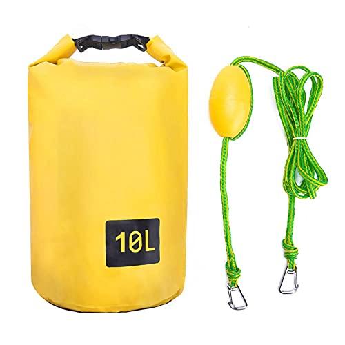 UNISOPH - Ancla de bolsa de arena, ancla de PVC 2 en 1, anclaje de bolsa seco para jet esquí, ancla de arena con boya ajustable, ideal para la tabla de remo de Radeau de Kayak de flotador de barco