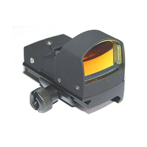 Ultimate Arms Gear Tactical Micro Compact Red Dot Open Reflex Sight With Pistol Rifle Shotgun Integral Weaver Picatinny Mount Base