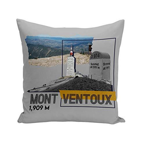 Fabulous Coussin 40x40 cm Mont Ventoux Collage Vélo France Cyclisme Tour