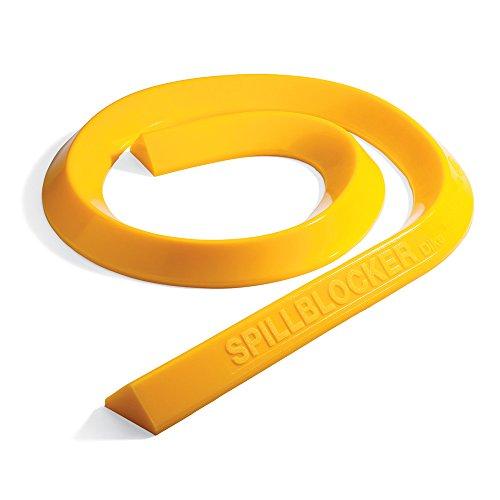 SpillBlocker Barrier Dike, Yellow, 4 In