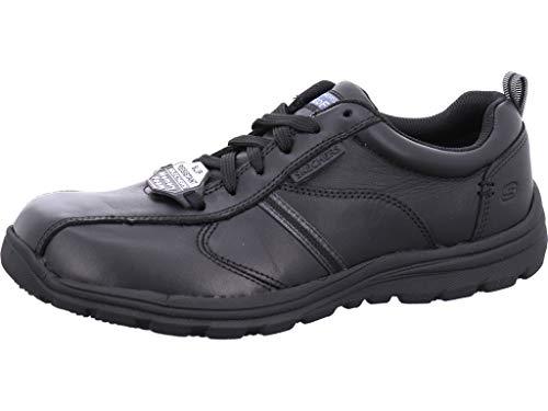 Skechers Men's Hobbes-Frat Safety Shoes, Black (Blk), 9 UK 43 EU