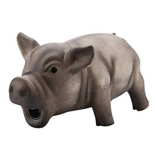 Juguetes de látex para Cerdos, un Juguete portátil para gruñir Cerdos Resistente a los mordiscos con Sonidos de chillidos Que atraen a su Mascota(# 3)