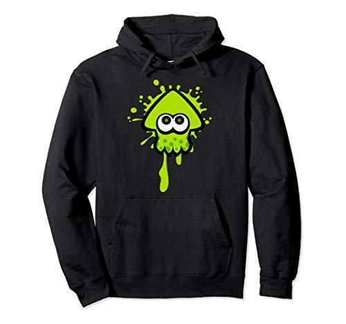 Nintendo Splatoon Green Inkling Squid Splat Graphic Hoodie