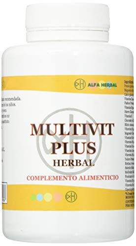 Alfa herbal Multivit plus herbal 120cap. 1 Unidad 300 g