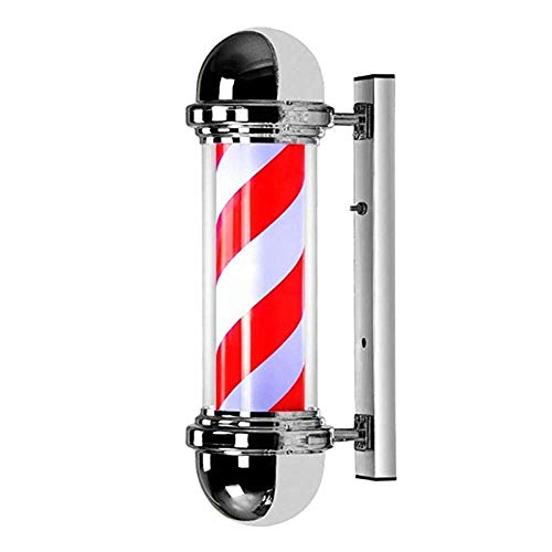 CF Barber Shop Paal, Roterend en Verlicht voor Kappers Salon Sign 75cm