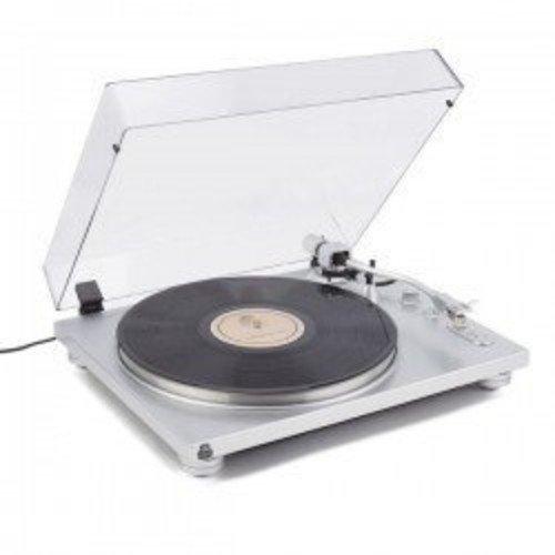 GPO Retro PR 100 Plata - Tocadiscos (Plata, 33,45 RPM, 420