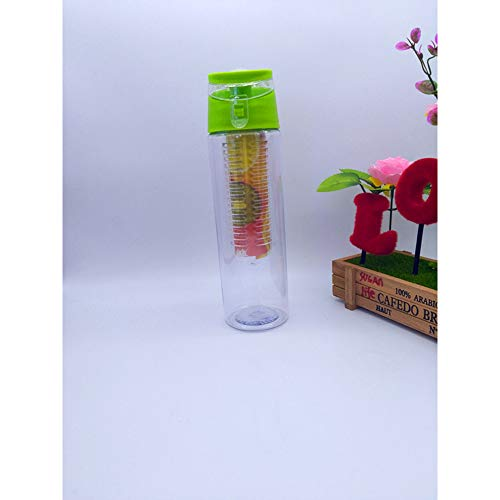 CYONGYOU 800 ml sport fruit injectie water limonade glas sap gezonde milieu detox fles flip-dop