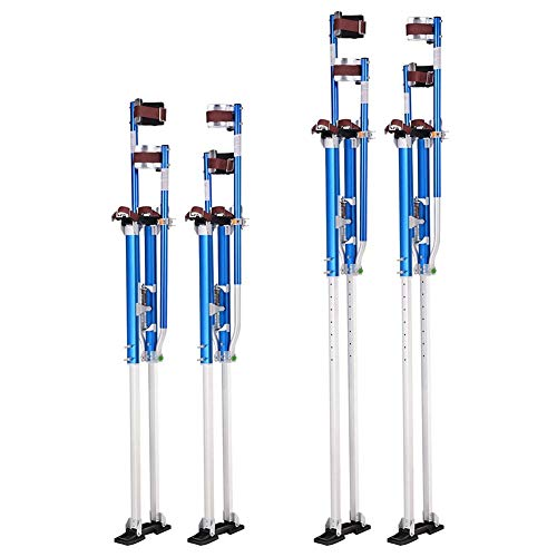 XER 50'- 64' Decorators Stilts Adjustable Aluminium Builder Painting...
