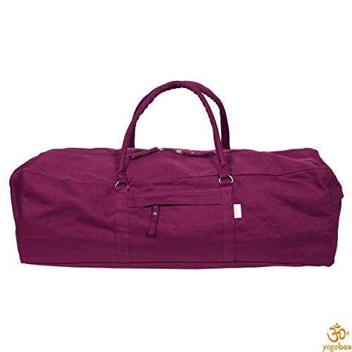 Yogabox Yogatasche ASANA Bag, aubergine