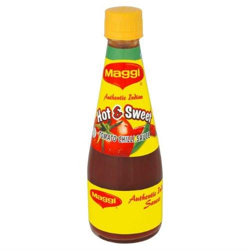 Maggi Heiss & Süßigkeiten Sauce 400g Karton mit 4