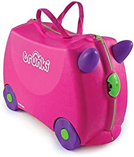 Trunki Children's Ride-On Suitcase & Hand Luggage: Trixie (Pink)