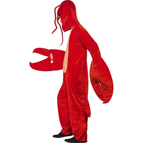 Amakando Disfraz de animales del cncer, disfraz de langosta, divertido disfraz de cangrejo para carnaval, cangrejo