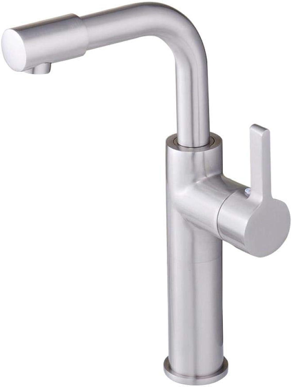 Tap Brushed redary Basin Single Hole Faucet Durable Basin Faucet