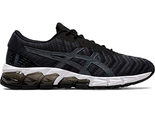 ASICS Women's Gel-Quantum 180 5 Running Shoes, 7.5M, Black/Carrier Grey