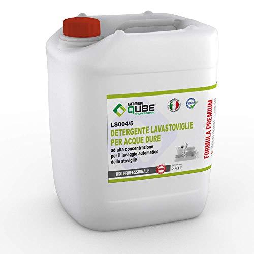 ls004/5 - Detergente Professionale Liquido concentrato per lavastoviglie Indicato per acque dure. 5LT