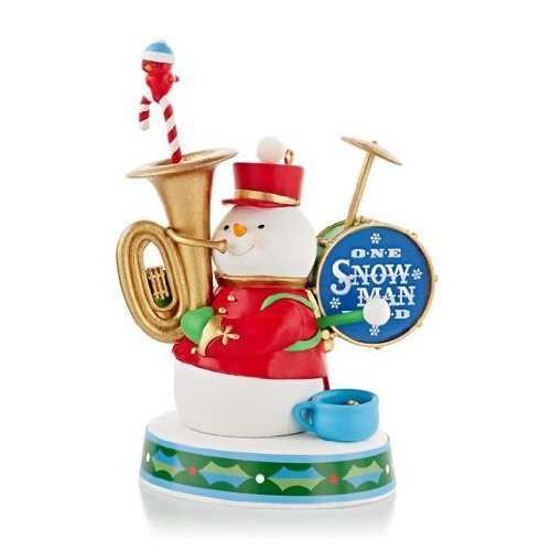 One Snowman Band 2013 Magic Hallmark Ornament