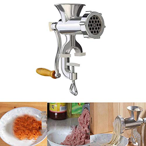 Fishyu Manual Triturador de Carne & Máquina para Hacer...