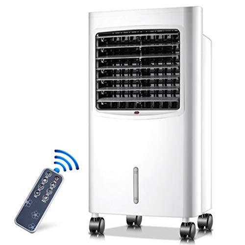 Condizionatori a evaporazione Raffrescatore Evaporativo Portatile Raffreddatore Domestico con Telecomando, Timer A 12 Ore E 3 Ventole di Raffreddamento Fresco E Caldo Doppio Utilizzo per Casa E Offic