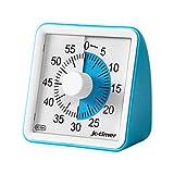 POLAME Timer analogico Blu, Timer per Il Conto alla rovescia dello Studio, Orologio Silenz...