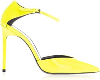 SAINT LAURENT Luxury Fashion Womens 5944371F0007204 Yellow Sandals | Fall Winter 19