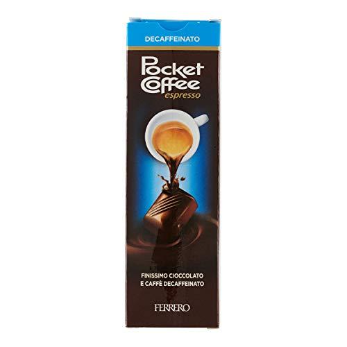 Ferrero Pocket Coffee Decaffeinato; Confezione da 5 Praline