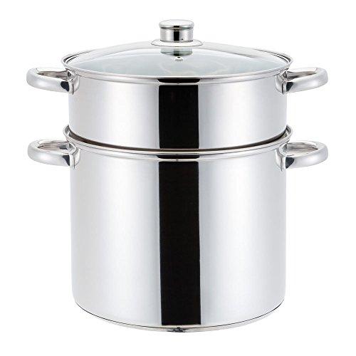 Trend'up - Couscoussier inox 20 cm 4 litres