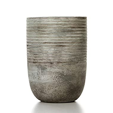 Hosley's 7.5  High, Ceramic Planter. Ideal Gift for Weddings, Contemporary Decor, Party, Spa, PTOO O6