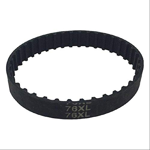 120XL Rubber Pulley XL Timing Belt Close Loop Synchronous Belt 1/5' Pitch 10mm Width Extra Light (120XL)