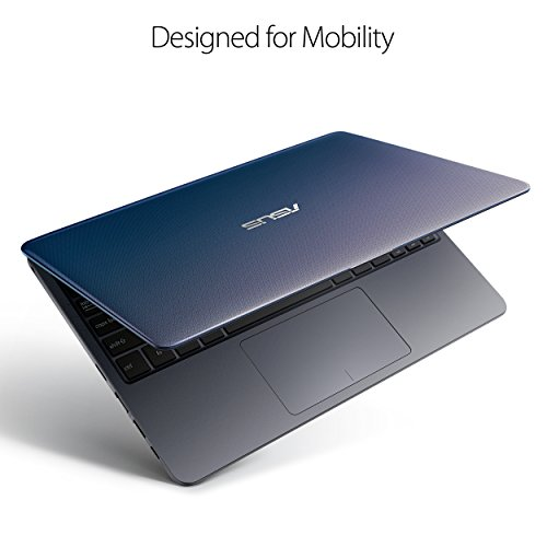 "ASUS VivoB   ook L203MA Ultra-Thin Laptop, 11.6"" HD, Intel Celeron N4000 Processor (up to 2.6 GHz), 4GB RAM, 64GB eMMC, USB-C, Windows 10 in S Mode, One Year of Microsoft Office 365, L203MA-DS04"